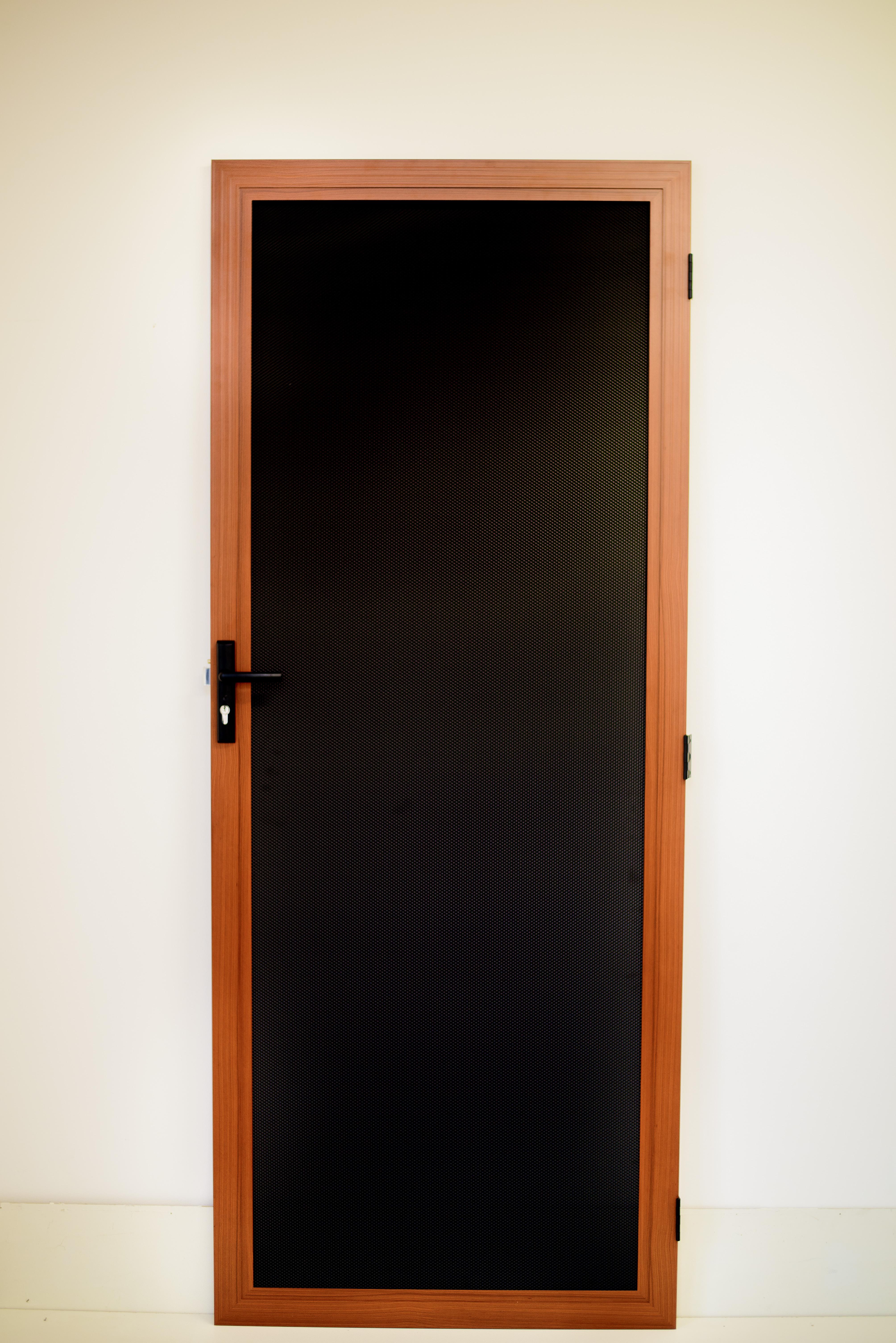 X Guard Security Door Special Timber Colour