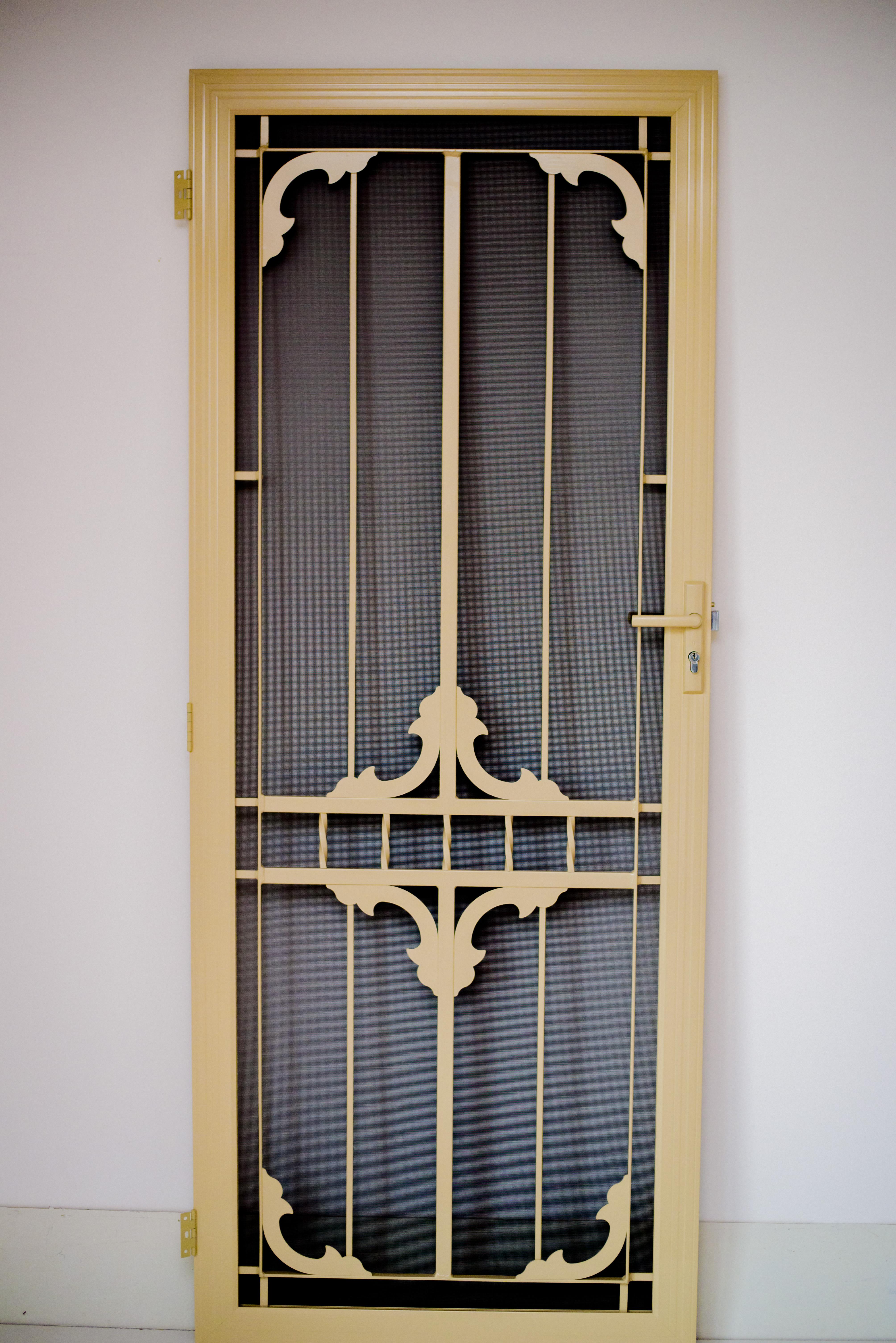 Steel Insert Designer Security Door