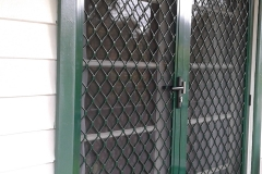Platinum Diamond Grille Security Door