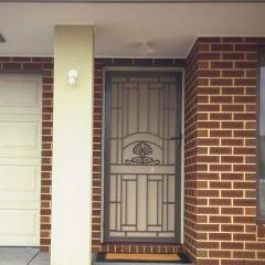 CAST DOOR WITH DVA ONE WAY MESH